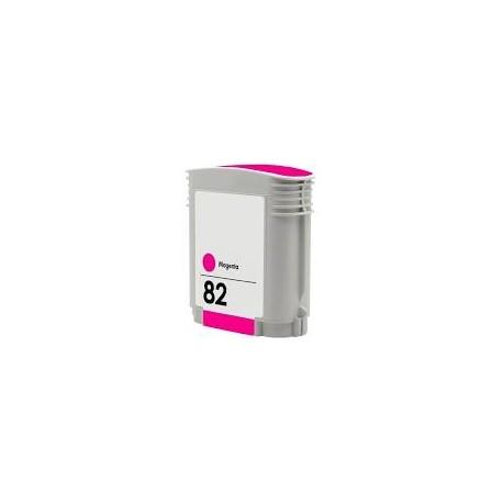 Cartucho de tinta compatible con HP Nº82 C4912A MAGENTA 69ML.