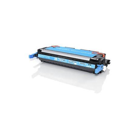 Cartucho de toner remanufacturado con HP Q6471A Cyan (4.000 paginas)