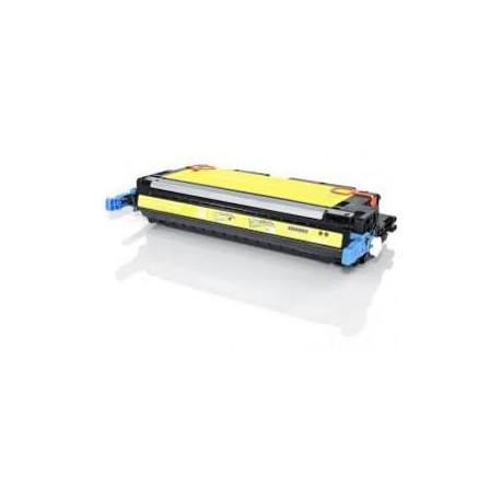 Cartucho de toner remanufacturado con HP Q6472A Yellow (4.000 paginas)