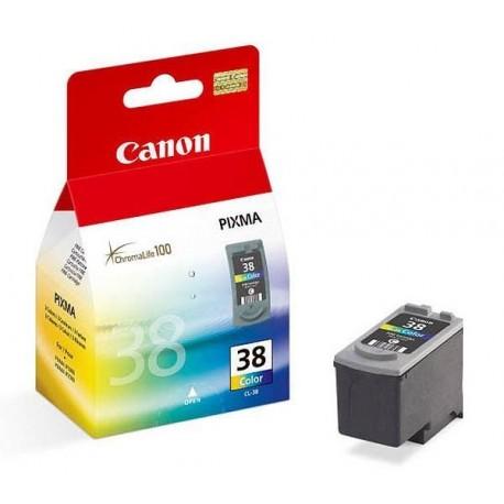 Cartucho de tinta compatible con Canon CL38 Tricolor Baja Capacidad