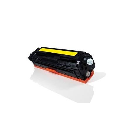 Cartucho de toner compatible con HP CE322A 128A Yellow 2.100 paginas