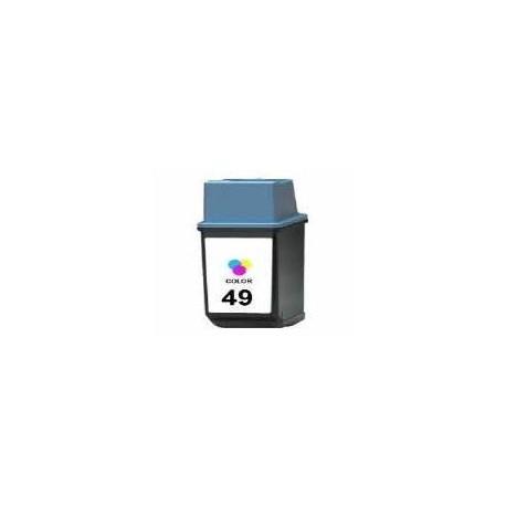 Cartucho de tinta compatible con HP 51649A Tricolor N49