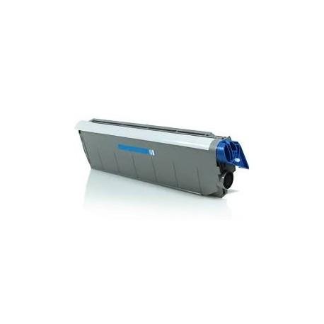 Cartucho de toner compatible con Oki C9100/C9200 41963603 Cyan (15.000 Paginas)