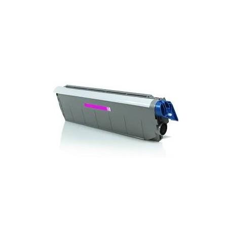 Cartucho de toner compatible con Oki C9100/C9200 41963602 Magenta (15.000 Paginas)