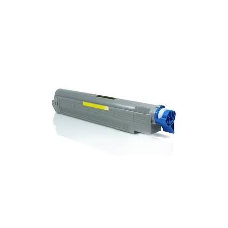 Cartucho de toner compatible con OKI 42918913 Yellow 15.000 pag