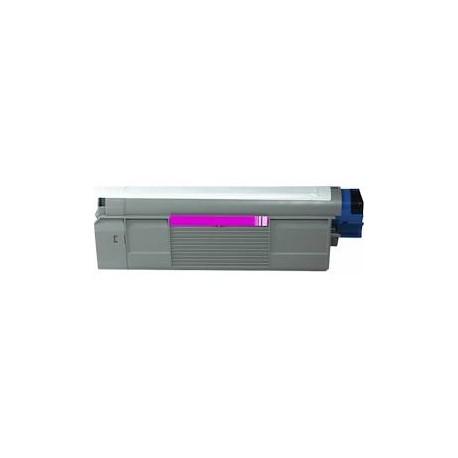 Cartucho de toner compatible con Oki 43381906 Magenta (2.000 pag.)