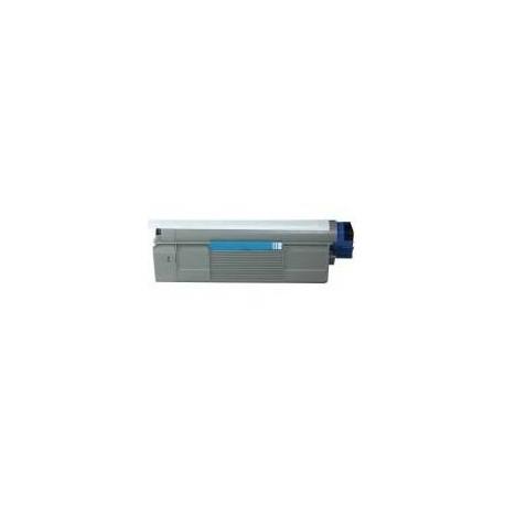 Cartucho de toner compatible con Oki 43381907 Cyan (2.000 pag.)