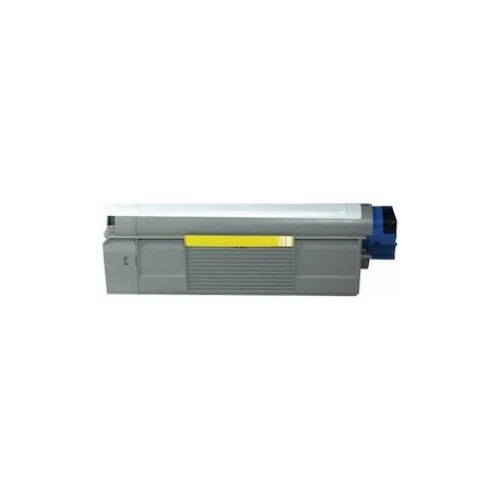 Cartucho de toner compatible con OKI 43324421 Yellow (5.000 pag.)