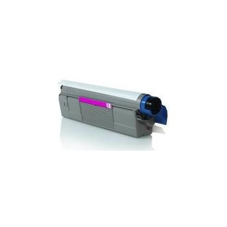 Cartucho de toner Compatible con Oki 43487710 Magenta ( 5.000 pag )