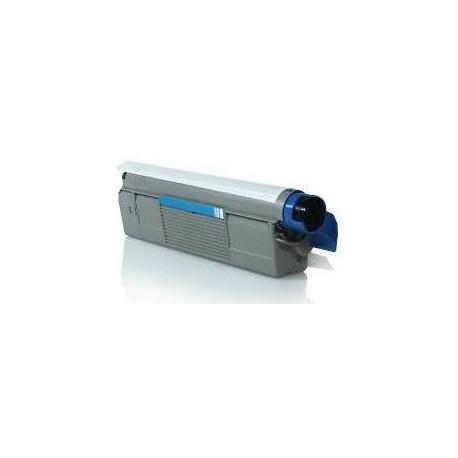 Cartucho de toner Compatible con Oki 43487711 Cyan ( 5.000 pag )