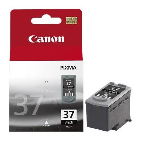 Cartucho de tinta compatible con Canon PG37 Black Baja Capacidad