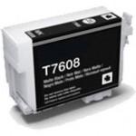 CARTUCHO TINTA COMPATIBLE EPSON T7608 NEGRO MATE C13T76084010)