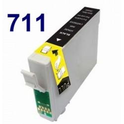 Cartucho de tinta remanufacturado para Epson T071140 Black (12ML)