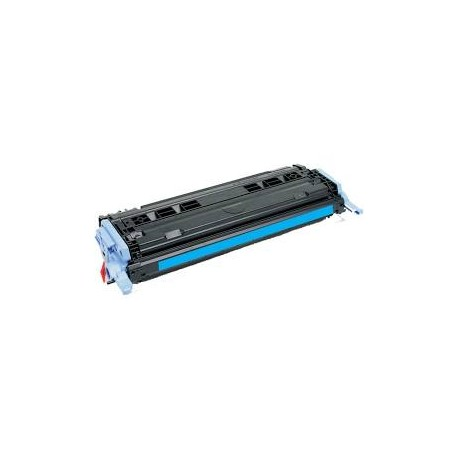 Cartucho de toner remanufacturad ocompatible con HP Q6001A Cyan (2.000 Paginas)