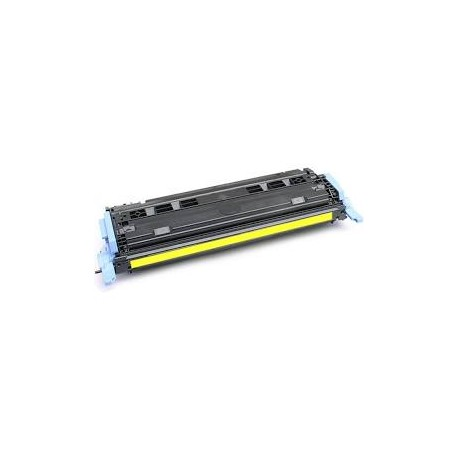 Cartucho de toner remanufacturado compatible con HP Q6002A Yellow (2.000 Paginas)