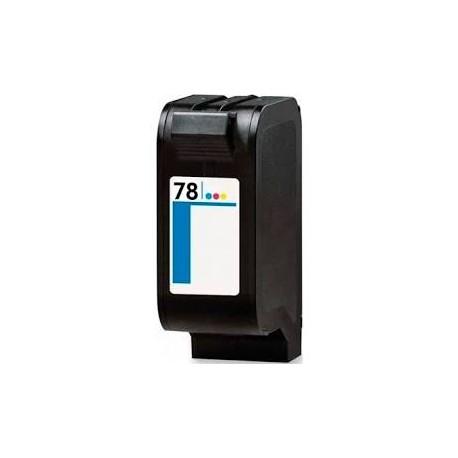 Cartucho de tinta compatible con HP C6578D Tricolor N78 39 ML