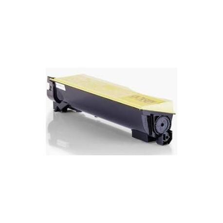 Cartucho de toner compatible con KYOCERA TK-550YELL. 6000Pag.