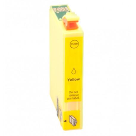 Tinta compatible EPSON T02W4 T02V4 502Xl AMARILLO ref.C13T02W44010 C13T02V44010