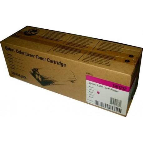 Cartucho de toner compatible con Lexmark 1361212 Magenta (4.000 pag.)