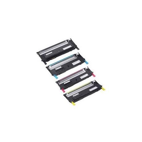Toner compatible DELL 1230/1235CN CYAN 1000 páginas