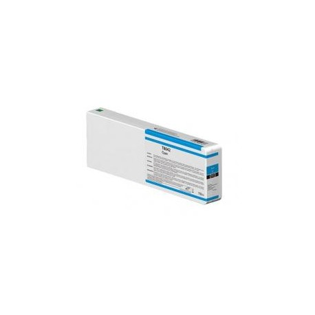 TINTA COMPATIBLE EPSON T8042 T8242 CYAN