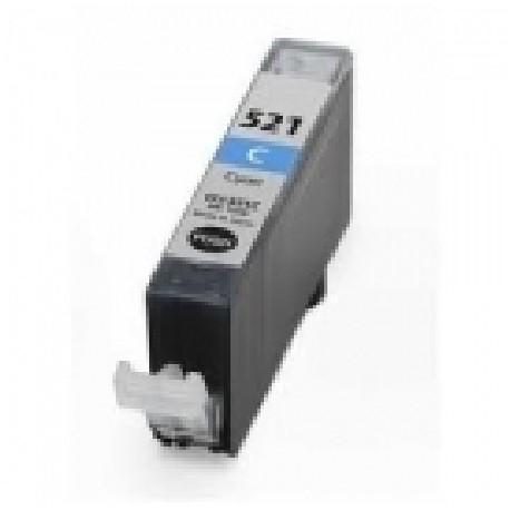 Cartucho de tinta compatible con Canon CLII521C Cyan (10,5ML)