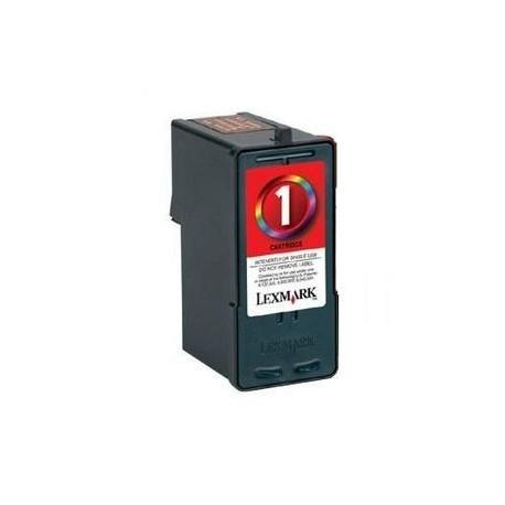 Cartucho de tinta Compatible con Lexmark 18C0781e N 1 Negro
