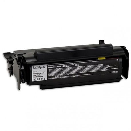 Cartucho de toner compatible con Lexmark 12A4715 Black (12.000 pag.)