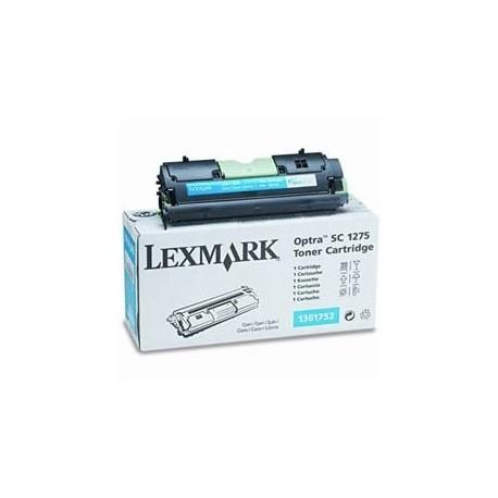 Cartucho de toner compatible con Lexmark 1361752 Cyan (3.500 pag.)