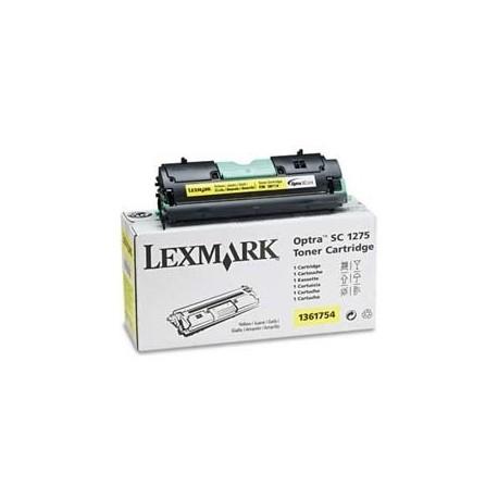 Cartucho de toner compatible con Lexmark 1361754 Yellow (3.500 pag.)