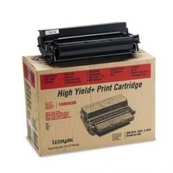 Cartucho de toner compatible con Lexmark 1380520 Black (9.500 pag.)