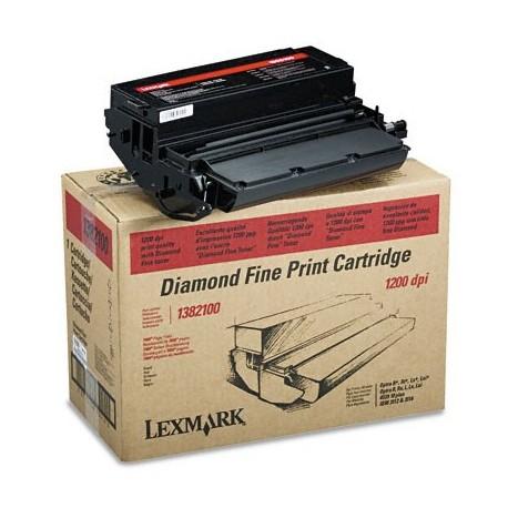Cartucho de toner compatible con Lexmark 1382100 Black (7.000 pag.)