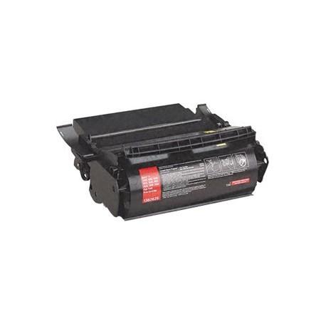 Cartucho de toner compatible con Lexmark 1382625 Black (17.600 pag.)