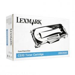 Cartucho de toner compatible con Lexmark 20K0500 Cyan (3.000 pag.)