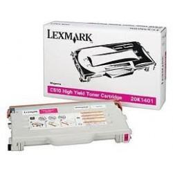 Cartucho de toner compatible con Lexmark 20K1401 Magenta (6.600 pag.)
