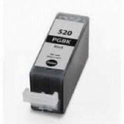 Cartucho de tinta compatible con Canon PGI520BK Negro (21ML)