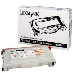 Cartucho de toner compatible con Lexmark 20K1403 Black (10.000 pag.)