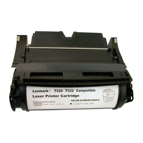 Cartucho de toner compatible con Lexmark 28P2008 Black (10.000 pag.)