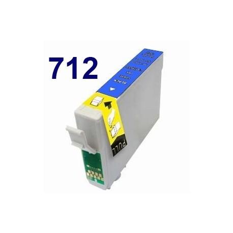 Cartucho de tinta remanufacturado para Epson T071240 Cyan(8ML)