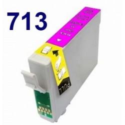 Cartucho de tinta remanufacturado para Epson T071340 Magenta(8ML)