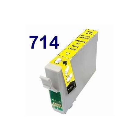 Cartucho de tinta remanufacturado para Epson T071440 Yellow(8ML)
