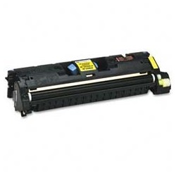 Toner compatible HP C9702A Nº 121A Yellow 4k