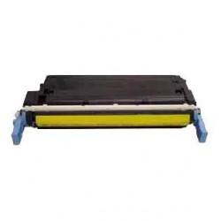 Cartucho de toner compatible con HP C9722A Yellow