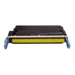 Cartucho de toner compatible con HP C9722A Yellow